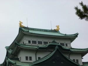 お城の屋根
