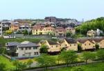 緑と住宅街