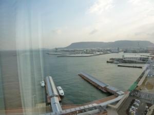 ホテルからの景観